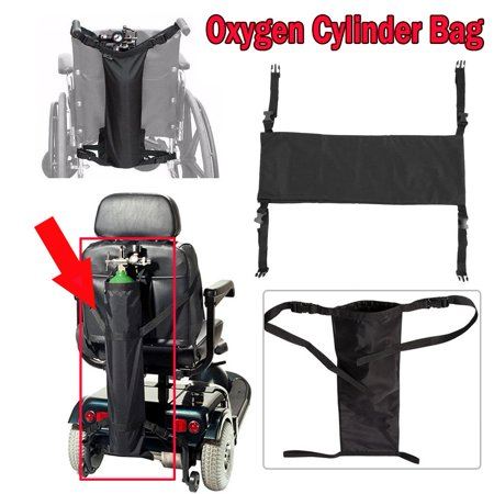 Oxygen Wheelchair - Hilitand Professional Durable Wheelchair Oxygen Cylinder Bag Portable Nylon Container, Nylon Oxygen Cylinder   Bag, Wheelchair Oxygen Cylinder Bag