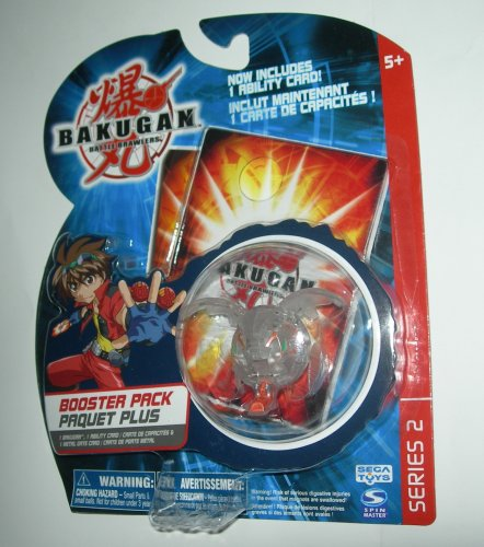 Battle Brawlers Series 2 Booter Pack TRANSLUCENT Tuskor, ...