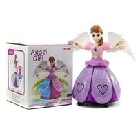 Light up Music Doll Sparkling Dancing  Snow Princess Figure 14 cm, Elsa S-1