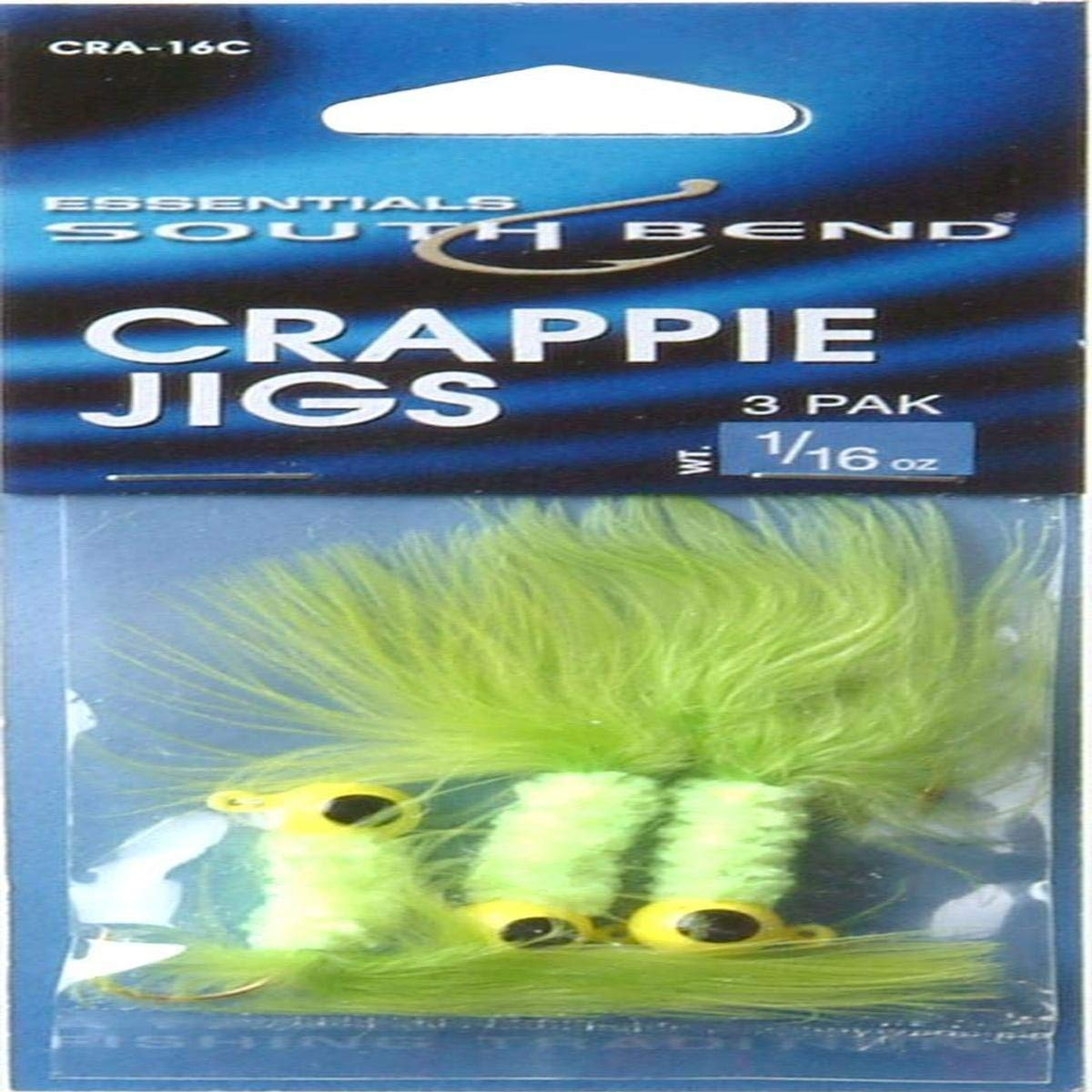 South Bend Crappie Jig, 1/16 oz