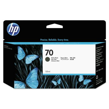 HP 70, (C9448A) Matte Black Original Ink (70 Matte Black Cartridge)