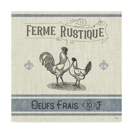 Trademark Fine Art 'French Farmhouse II' Canvas Art by Pela