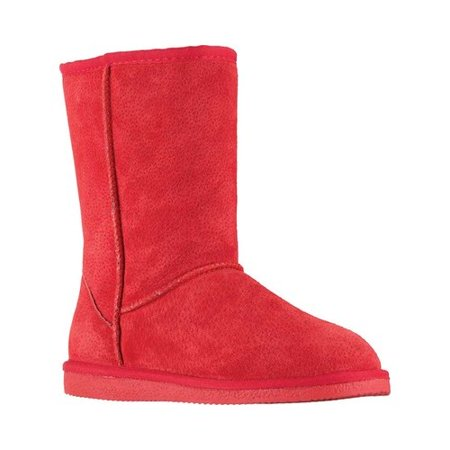 Women's 9 Classic Boot - Girl In Red Boots