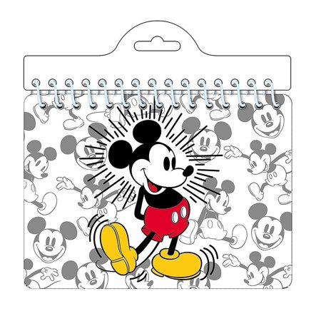 DisneyMickeyMouse'MickeyStanding'AutographNotebook (Printable Disney Stencils)