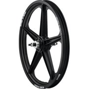 ACS Z Mag 20 Rear Wheel 5 Spoke 3/8 Axle Black