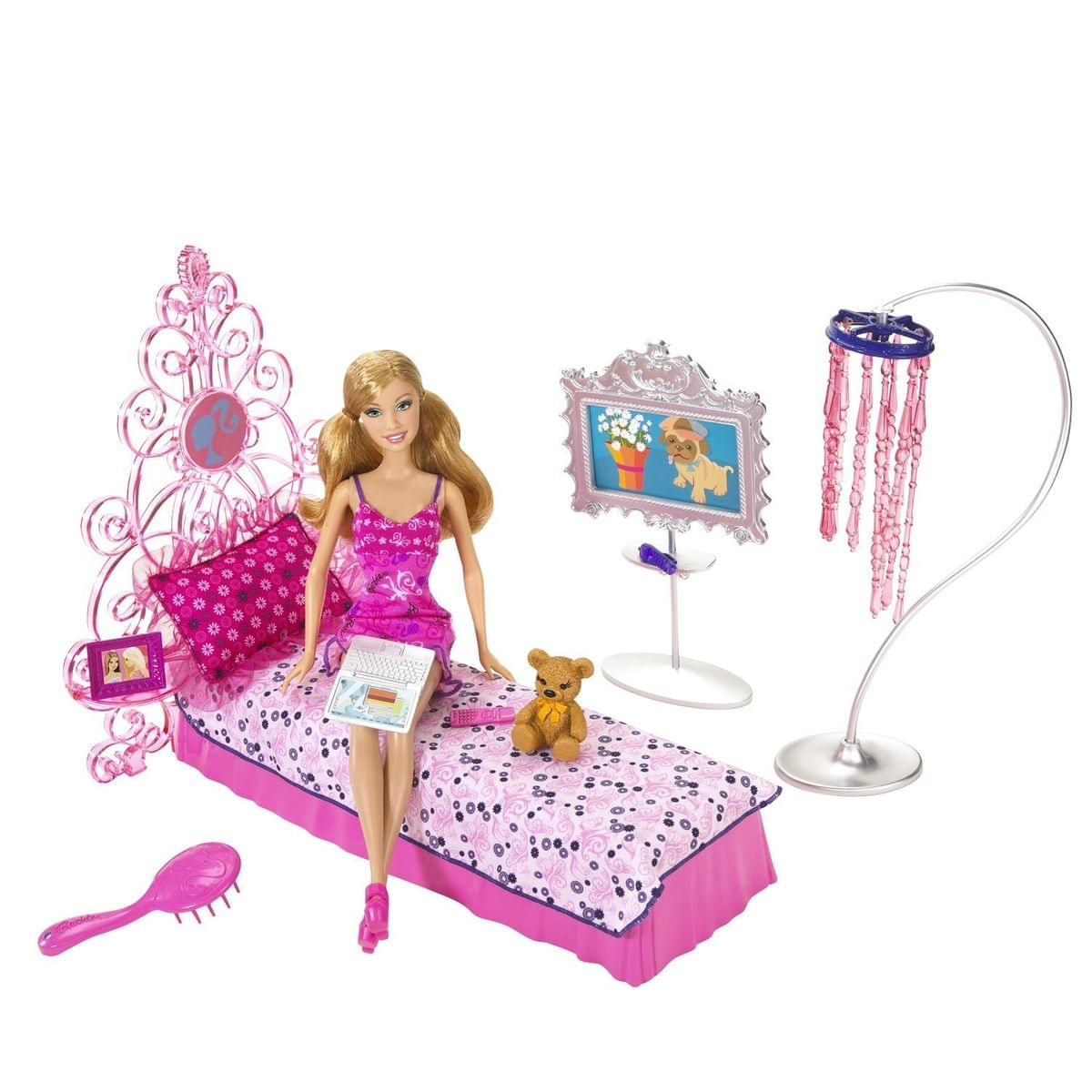 Barbie My House Dream Bedroom and Barbie Doll