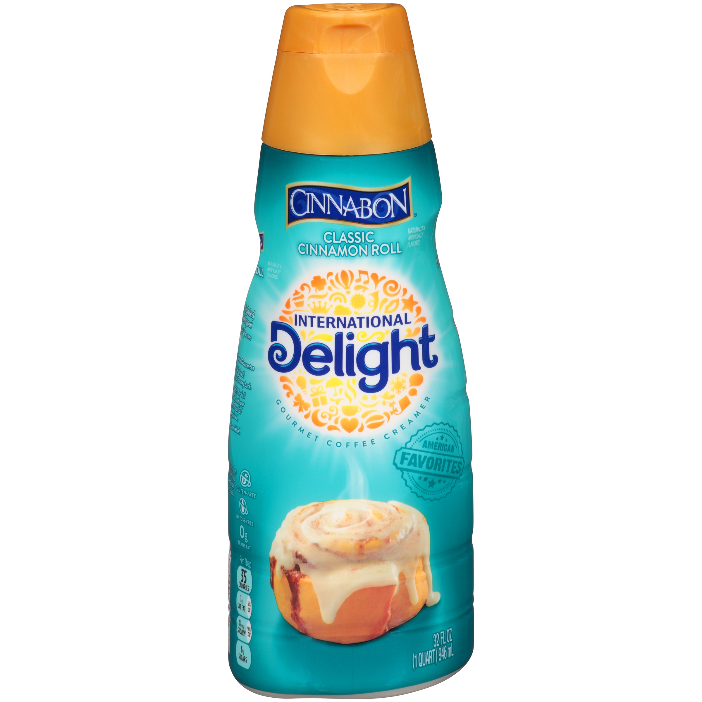 International Delight Cinnabon Coffee Creamer, 32 oz