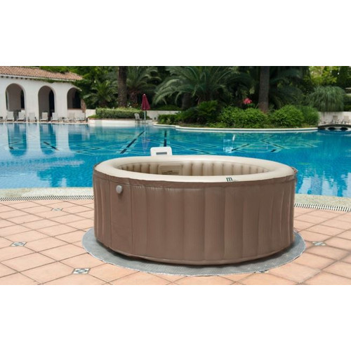 MSPA USA Elite 4-Person 118-Jet Bubble Spa by Hot Tubs