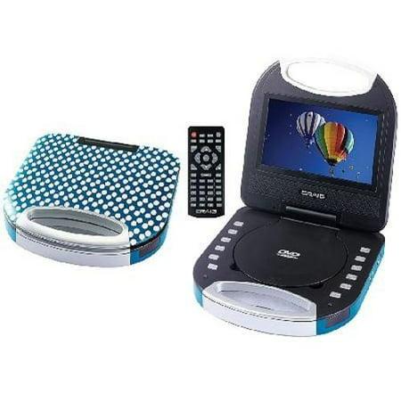 Craig Ctft750pu Purple 7Inch Screen Portable Dvd Cd Player ()