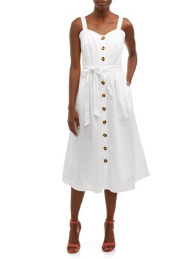 ecdec6a07ac2c Product Image Women's Midi Button Front Dress