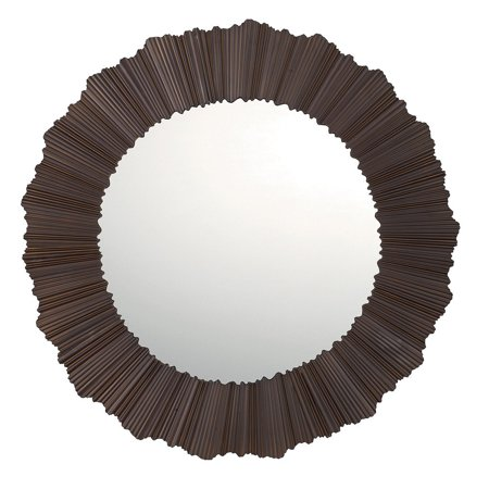 Capital Lighting  Modern Burnished Bronze Decorative Wall Mirror