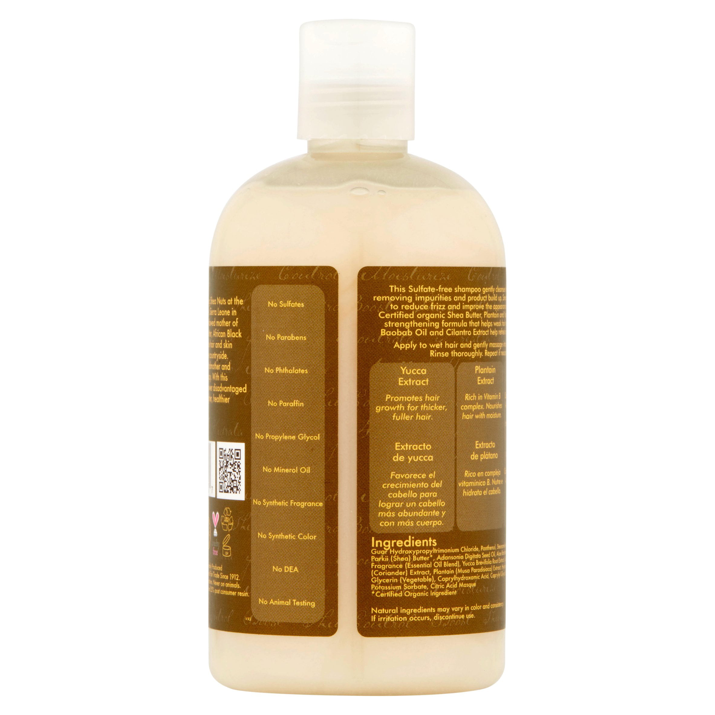 Shea Moisture Coconut Hibiscus Hold And Shine Daily Mist