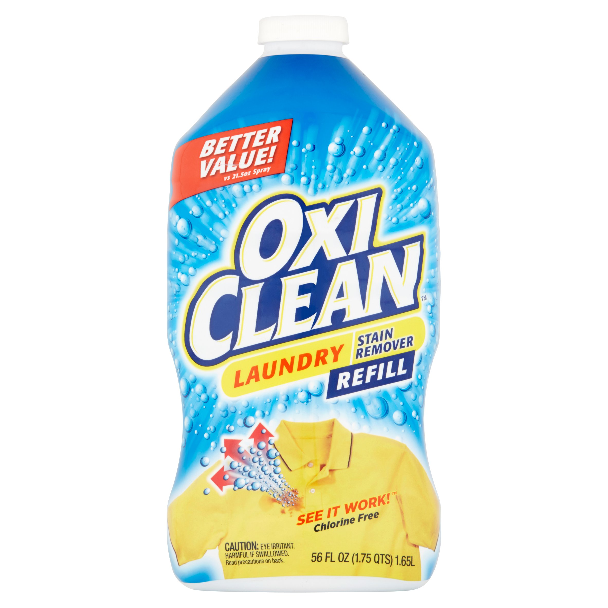 OxiClean Laundry Stain Remover Refill, 56 Oz