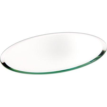 Micro Diecast Mini Oval Mirror - Beveled Glass Mirror, Oval 3mm - 4