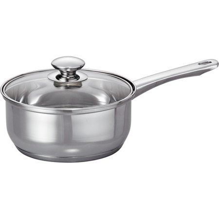 Mainstays 10 Piece Tri Ply Base Cookware Set Stainless