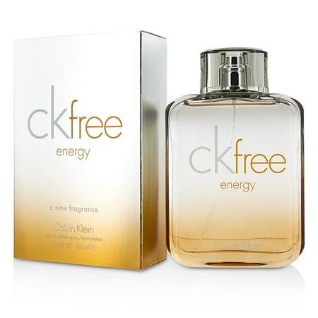 CK Free Energy Eau De Toilette Spray 100ml3.4oz