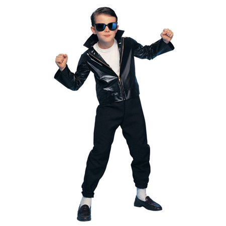 Boy's 1950s Greaser Costume - 1950s Fashion Men Greaser