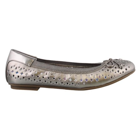 6501d2a6b13dc Vionic - Women's Vionic, Spark Surin Slip on Ballet Flats PEWTER 7.5 (M) U.S.  Women's - Walmart.com