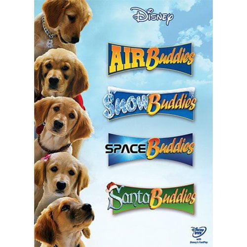 Buddies (Air Buddies, Snow Buddies, Space Buddies, Santa Buddies) (Four-Disc Edition)