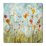 Artistic Home Gallery 'Jounce' by Jill Martin Painting Print on Wrapped Canvas