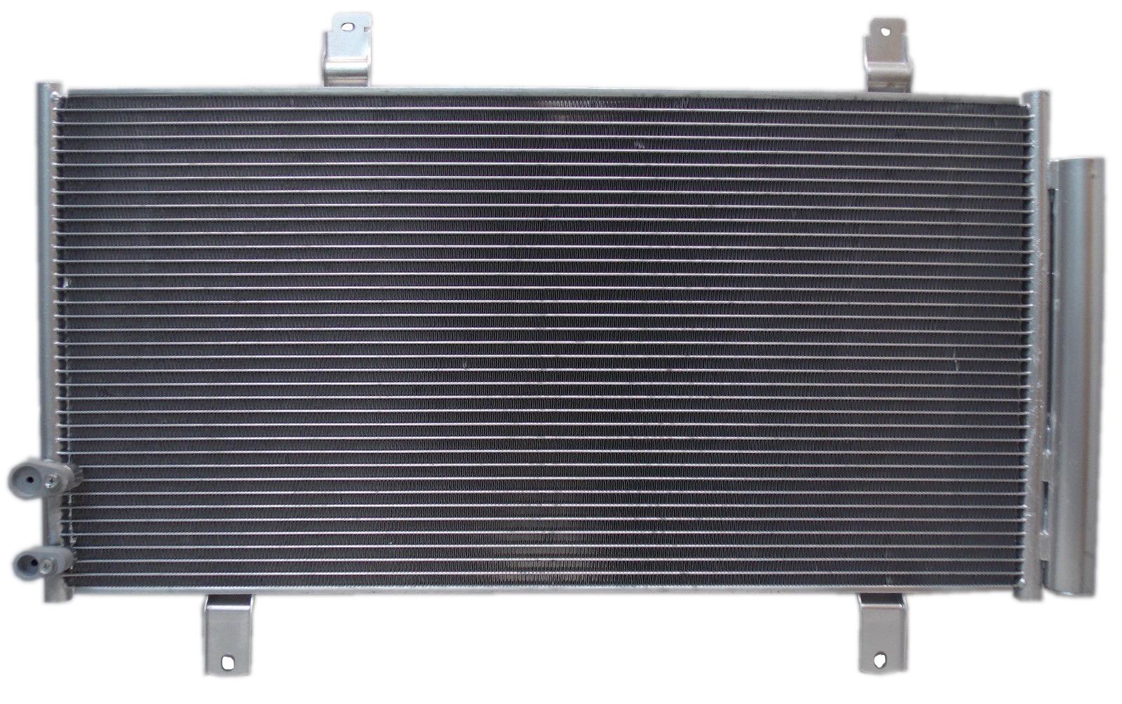 AC Condenser Radiator New Set Fit for 2007-2012 Lexus ES350 3.5L V6