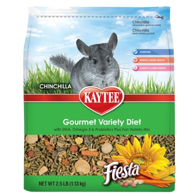 CENTRAL - KAYTEE PRODUCTS, INC FIESTA CHINCHILLA 2.5LB
