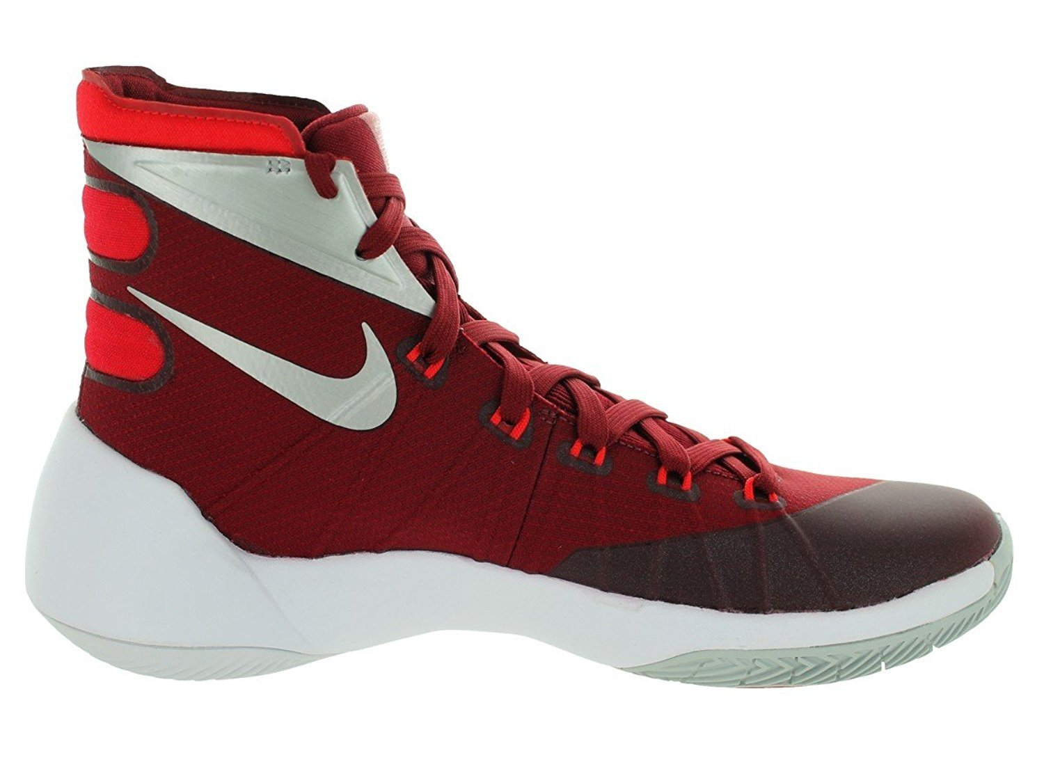 ad31af97253f ... france nike mens hyperdunk 2015 tb basketball shoe team red university  red white ba0ac e48c3