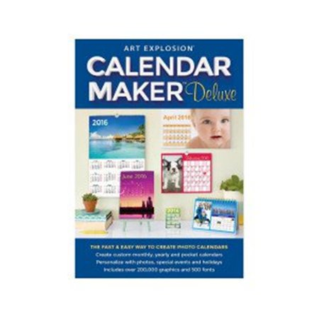 Art Explosion Calendar Maker Deluxe (Email Delivery)
