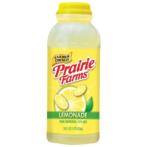 Prairie Farms Lemonade, 16 Fl. Oz.
