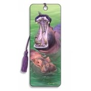 Hippos Bookmark by Artgame - BK123HIP