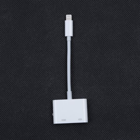 Lightning to Digital AV TV HDMI Cable Adapter For iPad air iPhone 7 7Plus 8 (Ipad 3 To Tv Cable)