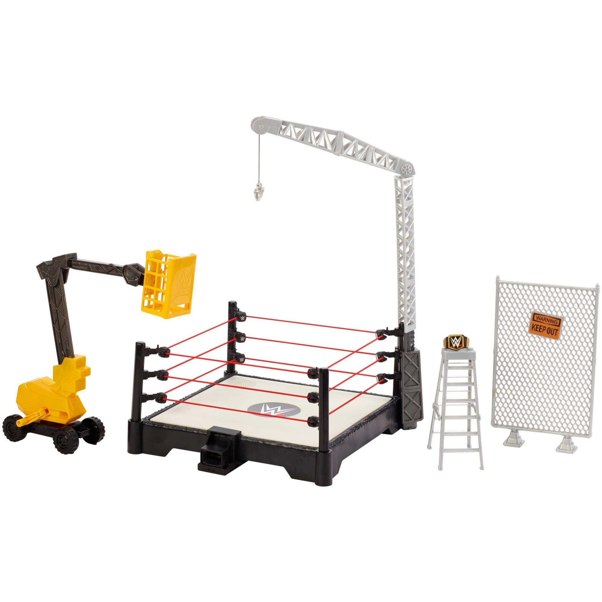 WWE Sound Slammers Destruction Zone Playset by Mattel