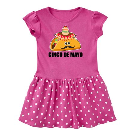 Cinco De Mayo With Taco with Eyes Mustache and Sombrero Toddler - Cinco De Mayo Dress Up