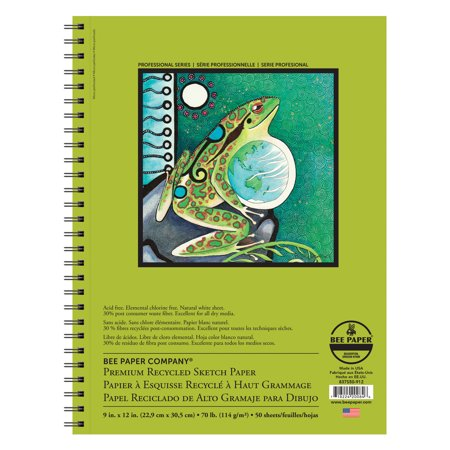 Bee Paper Premium Recycled Sketch Pad 12