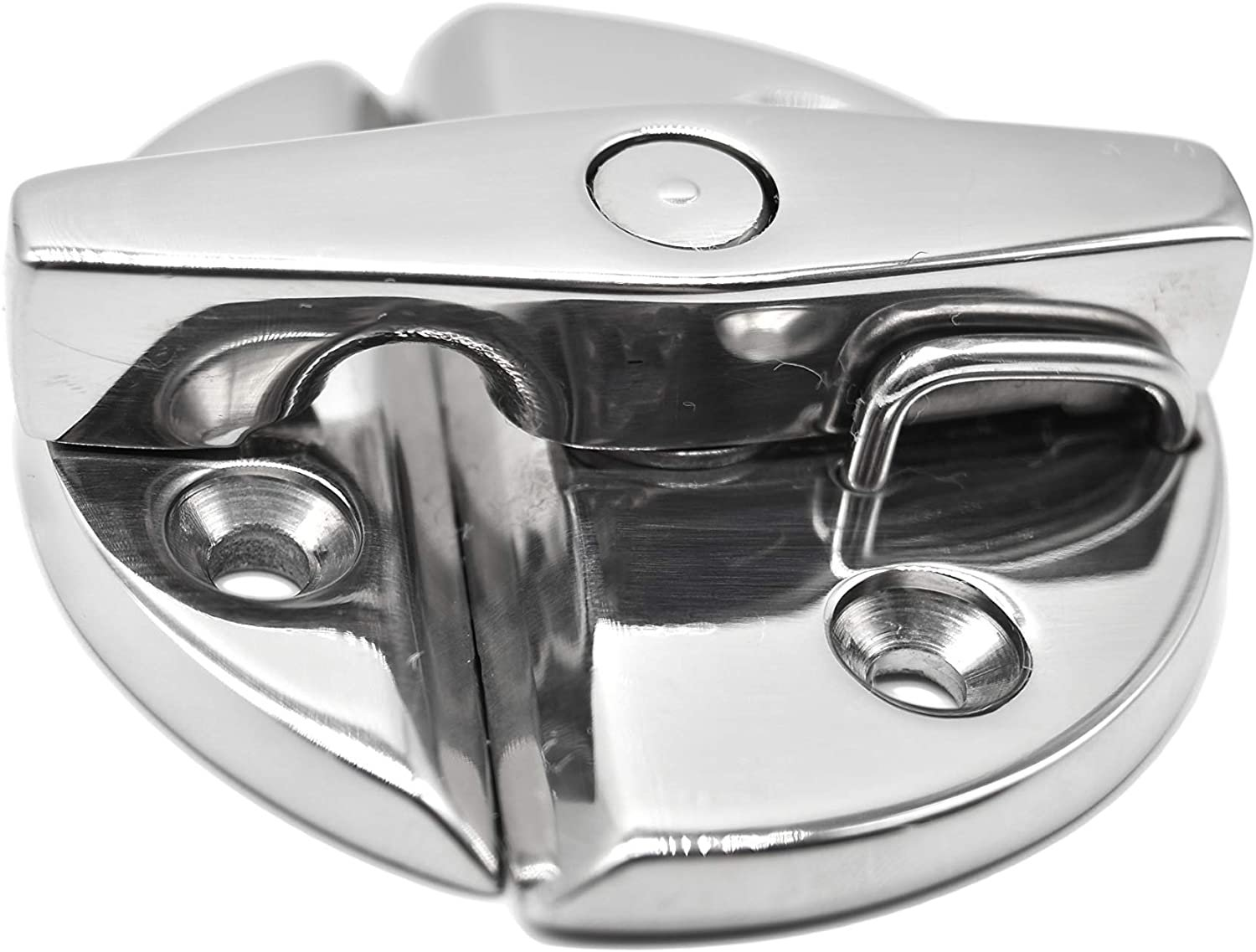 1pcs MARINE CITY 316 Stainless Steel Boat Deck Hatch Latch Door Catch with Twist Action
