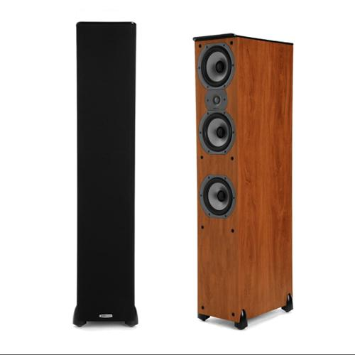 Polk Audio TSi 400 Cherry (Pair) Floorstanding Tower Speakers by Polk Audio