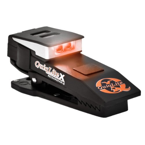 QuiqLite White Dual LED Rechargeable Light