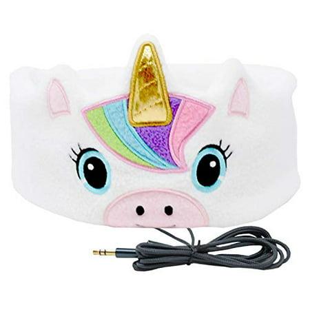 CozyPhones Kids Headphones Volume Limited with Ultra-Thin Speakers Soft Fleece Headband - Perfect Children's Earphones for Ho