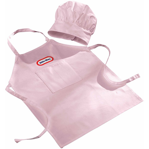 Little Tykes Backyard Barbeque Girls' Chef Outfit, Pink