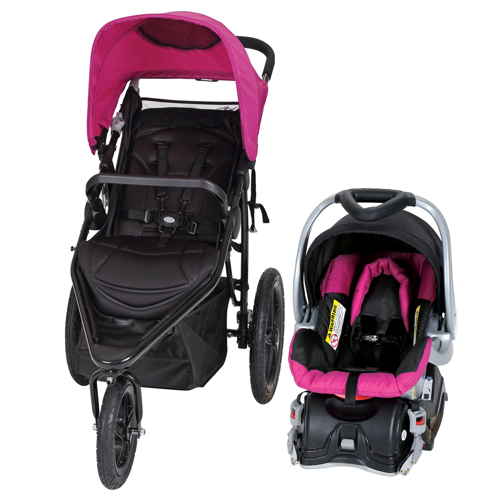 Baby Trend Stealth Jogger Travel System, Viola by Baby Trend