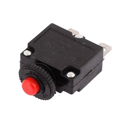 AC 125/250V 10A 2 Terminals Circuit Breaker Toggle Switch Protector - image 1 de 3