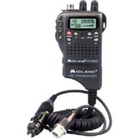 Midland 40-Channel Hand-Held CB Radio 75-822 by