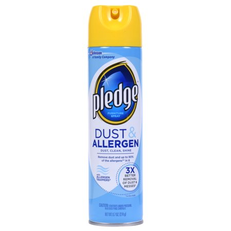 Pledge Dust And Allergen Furniture Spray 9 7 Ounces