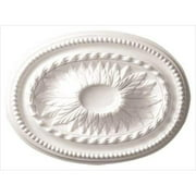 American Pro Decor 5APD10238 18.5 x 13.5 in. Leaves Ceiling Medallion