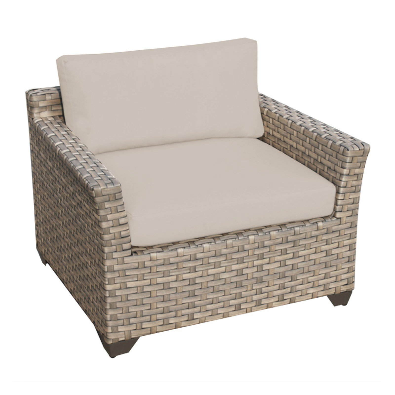 TK Classics Monterey Wicker Outdoor Club Chair - Set of 2 Cushion Covers