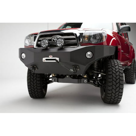 BODY ARMOR 4X4 TC-19335 05-11 TACOMA FRONT WINCH - Armor Front Bumper Winch Skid