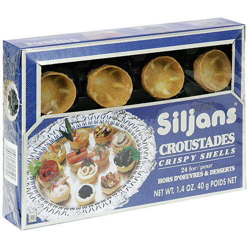 Siljans Crispy Shells, 1.75 oz (Pack of 6)