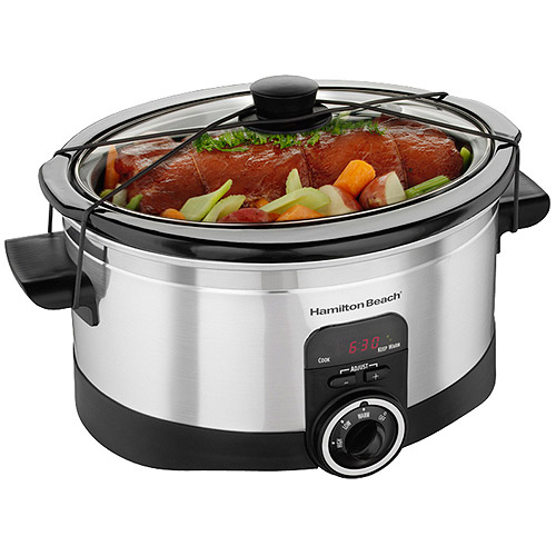 Hamilton Beach 6-Quart Programmable Slow Cooker