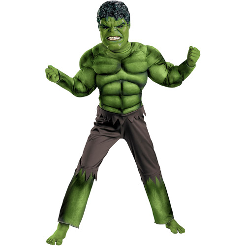 Hulk (The Avengers) Classic Muscle Child Halloween Costume