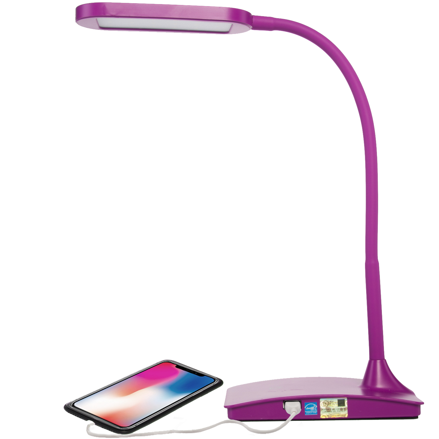 Tw Lighting Led Ivy Office Computer Desk Lamp With Usb